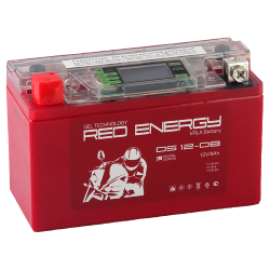 АКБ Red Energy  DS 12-08, 8 Ач, 12 В, 120 А, 150х66х95 мм, YT7B-BS, YT7B-4, YT9B-BS