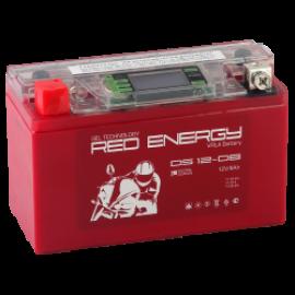 АКБ Red Energy  DS 12-08, 8 Ач, 12 В, 120 А, 150х66х95 мм, YT7B-BS, YT7B-4, YT9B-BS