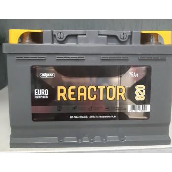 АКОМ Reactor 6CТ 75 R+ 820A