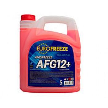 EUROFREEZE Antifreeze AFG 12+ 4.2л (4,8кг) Красный