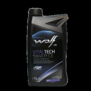 Моторное масло Wolf Vital Tech 5w-40 1л