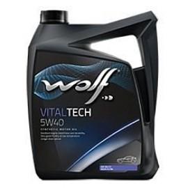 Моторное масло Wolf Vital Tech 5w-40 5л