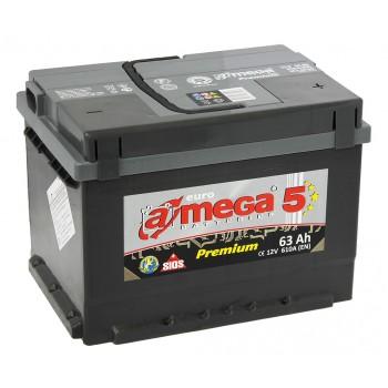A-mega Premium 63 R 610 Ач