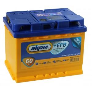 Аком EFB 60 R+ 560A