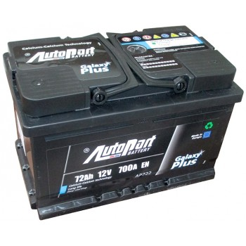 Autopart Galaxy Plus AP722 72Ah R+ 700A