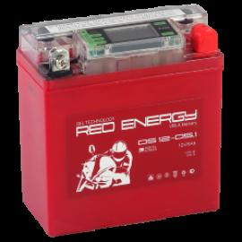АКБ Red Energy DS 12-05.01, 5 Ач, 12 В, 50 А, 120х61х129 мм, 12N5-3B, YB5L-B