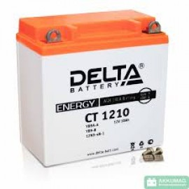Аккумулятор Delta AGM CT 1210 (YB9A-A, YB9-B, 12N9-4B-1) (10 А/ч)