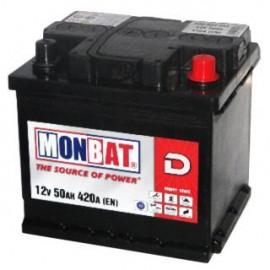 MONBAT (50 A/h), 420A R+