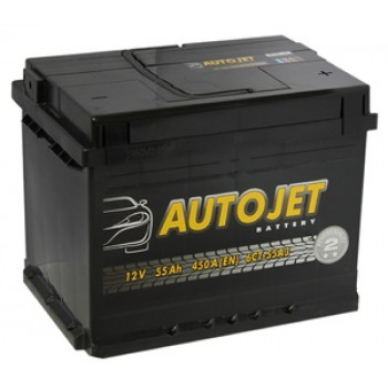 Autojet 6CT-55 (55 A/h), 450A  R+/L+