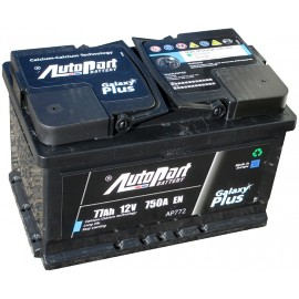 Autopart Galaxy Plus AP772 77Ah R+ 750A
