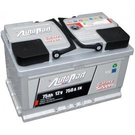 Autopart Galaxy Silver 75Ah GL750 R+ 750A