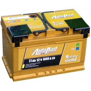 Autopart Galaxy Gold 77Ah GD770 R+ 800A
