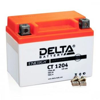 Аккумулятор Delta AGM CT 1204 (YTX4A-BS) (4 А/ч)