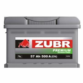 Zubr Premium (57 A/h), 500А R+