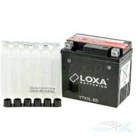 Аккумулятор для мотоцикла LOXA YTX5L-BS 12V 4 Ah