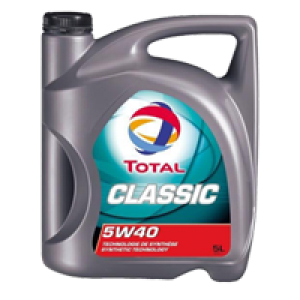 МОТОРНОЕ МАСЛО TOTAL CLASSIC 5W-40 5л