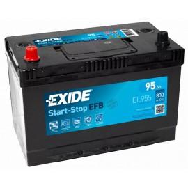 EXIDE START-STOP EFB EL955 (95A/H), 800А