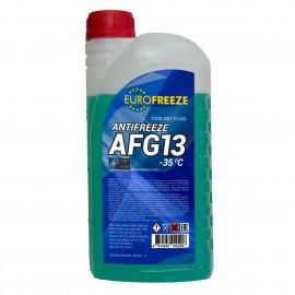 Antifreeze EUROFREEZE AFG 13 -40C 1 кг (0,88Л) ЗЕЛЕНЫЙ