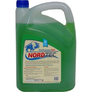 Антифриз Nordtec G11 -40 (5кг, зеленый)